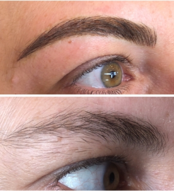 Microblading, Eyes, Lips